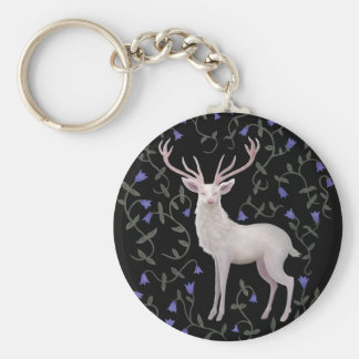 White Stag Key Ring