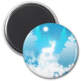 White Stag Magnet