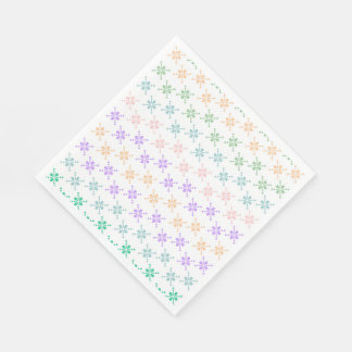 White Standard Luncheon Paper Napkins