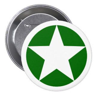 White Star 7.5 Cm Round Badge