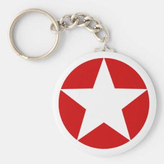 White Star Keychain