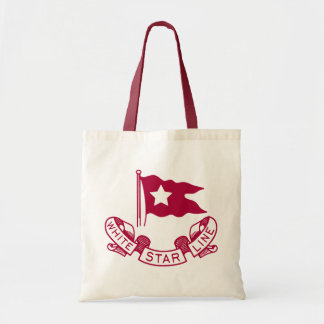 White Star Line logo Tote Bags