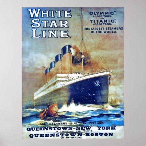 White Star Line Print