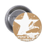 White Starr 2 Pinback Buttons