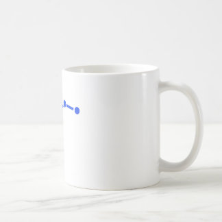White Starry Coffee Mug