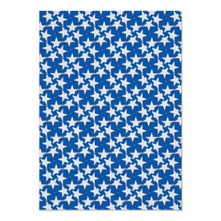 White Stars on Blue Pattern Gifts Announcement