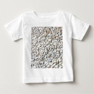 White Stones Baby Tee Shirt