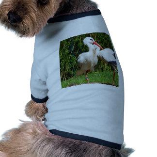 White Stork Doggie Shirt