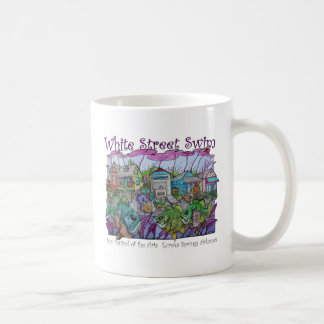 White Street Swim Eureka Springs Basic White Mug
