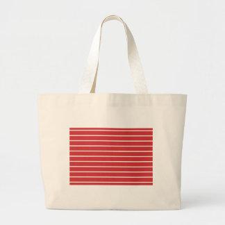 White Stripes ON Red Bag