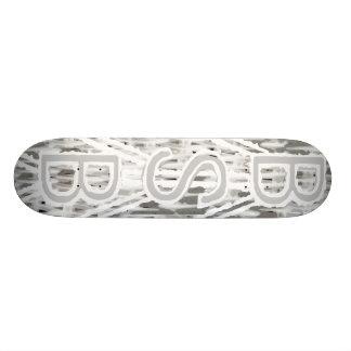 White Stripes Skateboard Decks