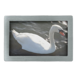 White Swan Belt Buckle