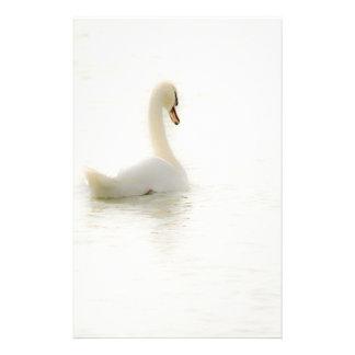 white swan custom stationery