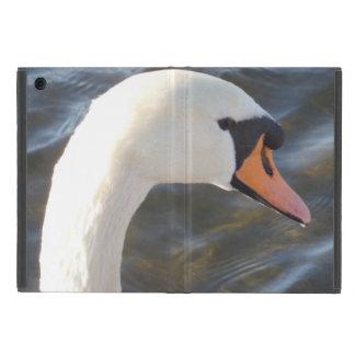 White Swan iPad Mini Case with No Kickstand