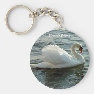 White Swan Key chain