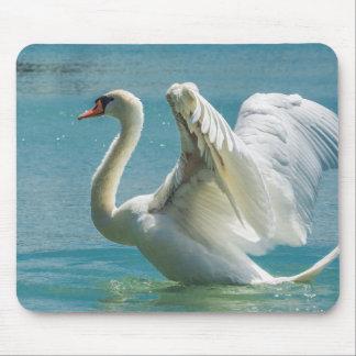 White Swan Mousepads