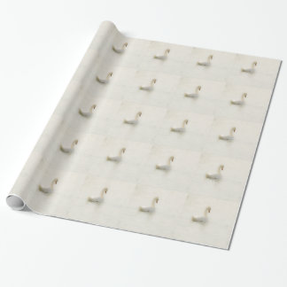 white swan wrapping paper