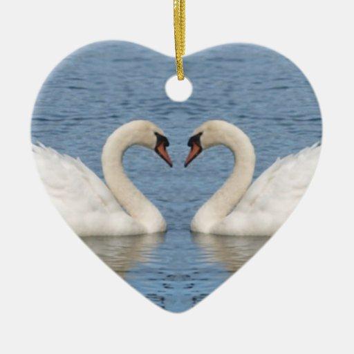 White Swans Ornaments