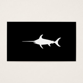 White Swordfish Business Card