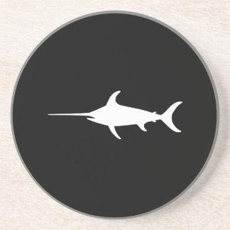 White Swordfish Coaster