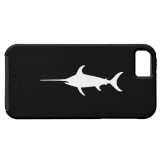 White Swordfish iPhone 5 Cases