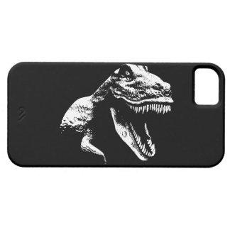 White T Rex Barely There iPhone 5 Case