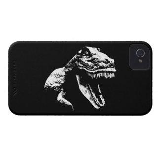 White T Rex iPhone 4 Case-Mate Cases