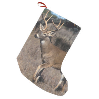 White Tail Deer Small Christmas Stocking
