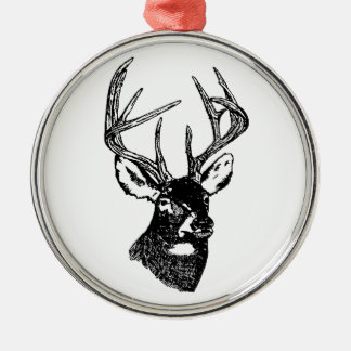 White Tail Deer Trophy Buck Christmas Ornament