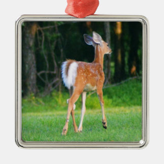 White Tail Fawn Christmas Ornament
