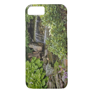 White-tailed deer fawn hiding in backyard iPhone 8/7 case