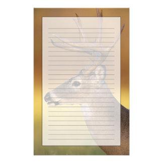 White-tailed Deer, Odocoileus virginianus, Customised Stationery