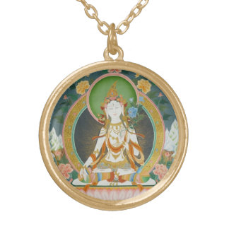 White Tara Necklace A