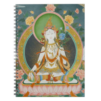 White Tara Notebook