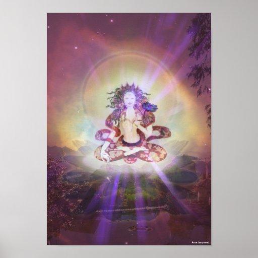 'White Tara' print