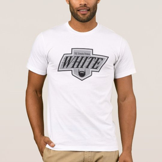 White Team LA Kings 1988 Logo Men's T-Shirt