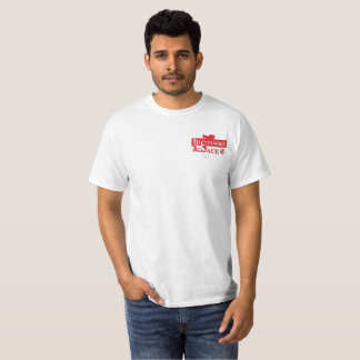 White tee-shirt History Alsace (cheap) T-Shirt