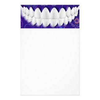 White Teeth Smile Dentist Stationery