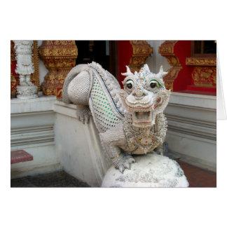 White Temple Dragon Card