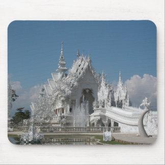 White Temple Thailand Mouse Mat