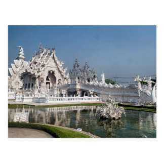 White Temple Wat Rong Khun, Chiang Rai, Thailand Postcard