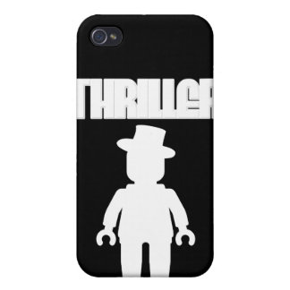 White Thriller Minifig by Customize My Minifig Case For iPhone 4