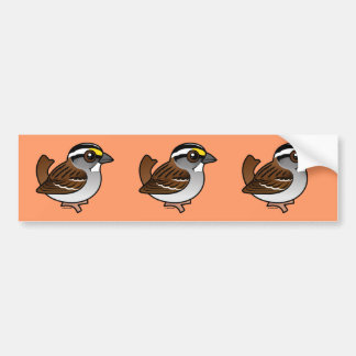 White-throated Sparrow Bumper Stickers