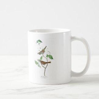 White Throated Sparrow John Audubon Birds America Basic White Mug