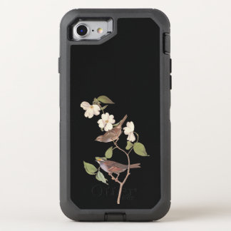 White Throated Sparrow Vintage Audubon Art OtterBox Defender iPhone 8/7 Case