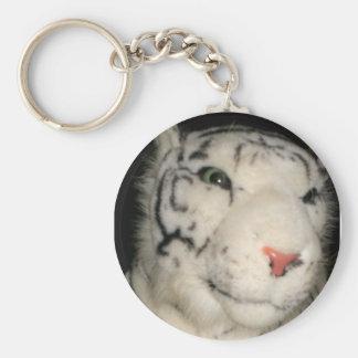 White Tiger 1 Key Chain