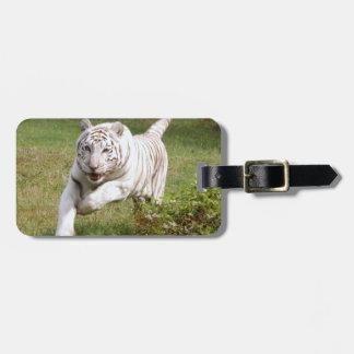 White Tiger 3825e Luggage Tag