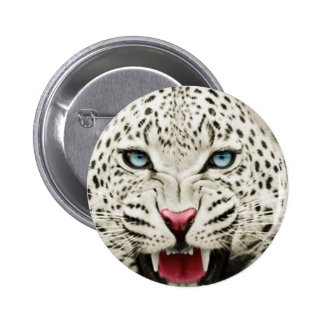white tiger pinback buttons