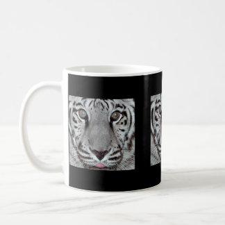 White Tiger Basic White Mug