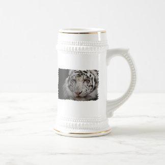 White Tiger Beer Stein Coffee Mug